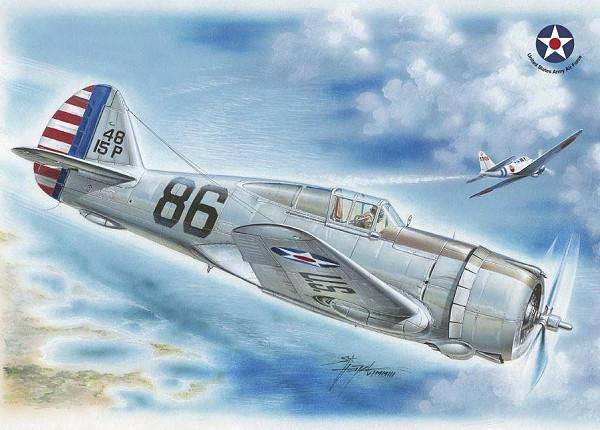 Special Hobby Aircraft 1/32 P36A Hawk US Army Pearl Harbor Defender Fighter Kit