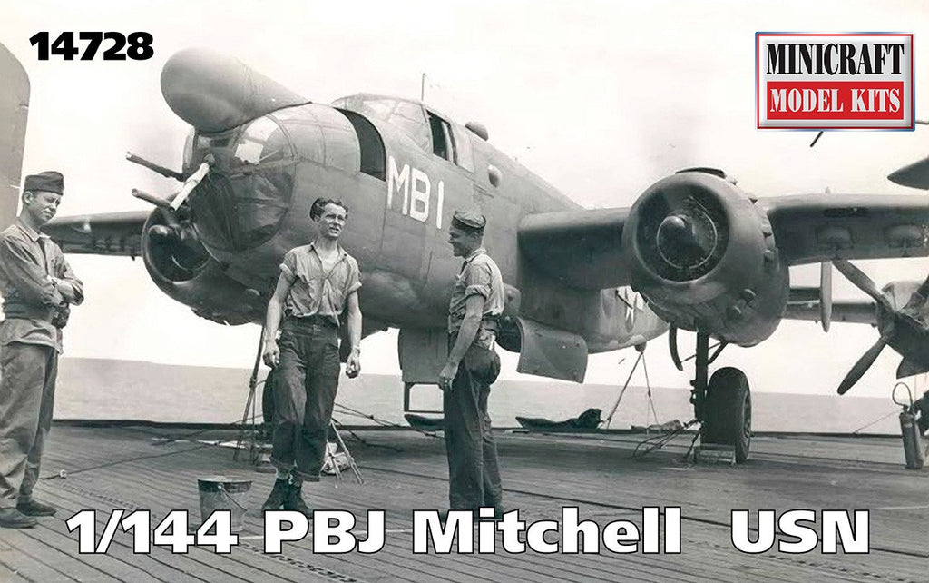 Minicraft 1/144 PBJ Mitchell USN Aircraft Kit