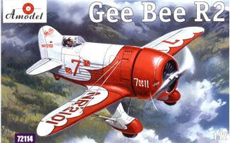 A Model From Russia 1/72 Gee Bee Super Sportster R2 Aircraft Kit