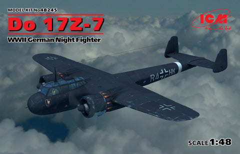 ICM Aircraft 1/48 WWII German Do17Z7 Night Fighter Kit