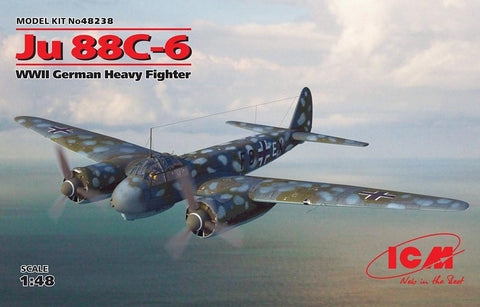 ICM Aircraft 1/48 WWII German Ju88C-6 Heavy Fighter Kit