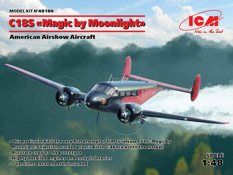 ICM Aircraft 1/48 C18S Magic by Moonlight Airshow Aircraft Kit
