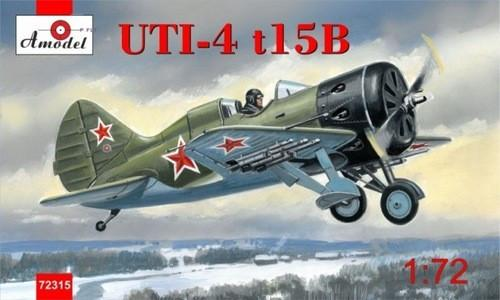 A Model From Russia 1/72 Polikarpov UTI4 t15B Soviet Fighter Kit