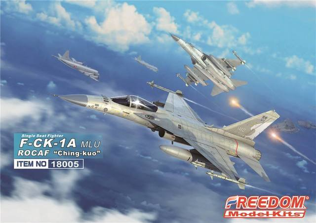 Freedom Model Aircraft 1/48 ROCAF F-CK1C Ching Kuo Single-Seat Indigenous Defense Fighter Kit