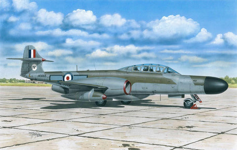 Special Hobby Aircraft 1/72 AW Meteor NF12 Defending the UK Skies Fighter Kit