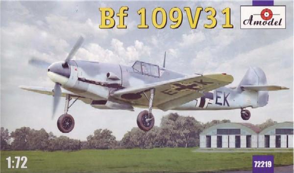 A Model From Russia 1/72 Messerschmitt Bf109V31 Fighter Kit