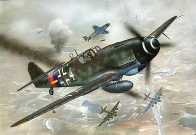 Revell Germany Aircraft 1/72 Bf109G10 Aircraft Kit