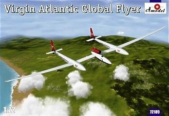 A Model From Russia 1/72 Virgin Atlantic Global Flyer Aircraft Kit