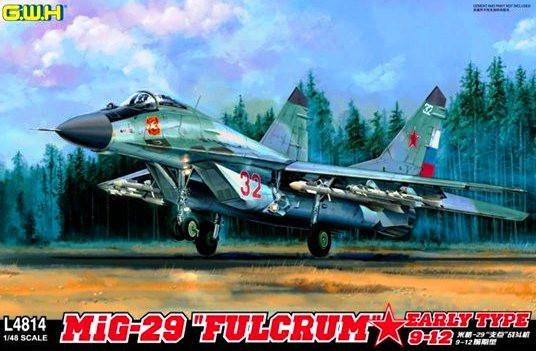 Lion Roar 1/48 MiG29 Early Type 9-12 Fulcrum Fighter Kit
