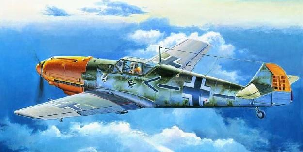 Trumpeter Aircraft 1/32 Messerschmitt Bf109E4 German Fighter Kit