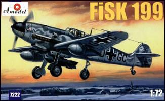 A Model From Russia 1/72 Fisk199 Russian WWII Plane Kit