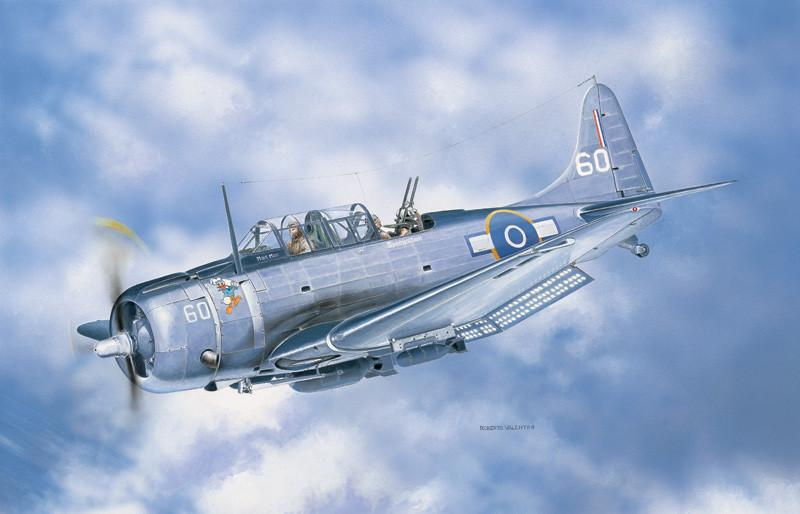 Italeri Aircraft 1/48 SBD5 Dauntless Fighter Kit