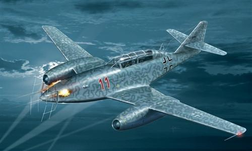 Italeri 1/48 Messerschmitt Me262 B1a/U1 Nachtjager Fighter Kit