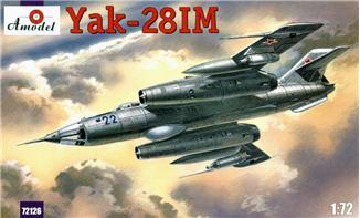A Model From Russia 1/72 Yak28IM Soviet Fighter Bomber Kit