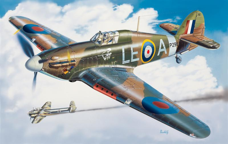 Italeri 1/48 Hurricane Mk I Fighter Kit