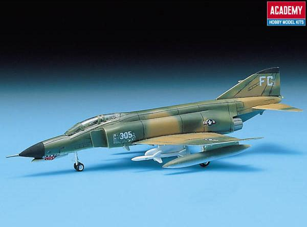 Academy Aircraft 1/144 F4E Phantom II Fighter Kit