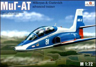 A Model From Russia 1/72 Mig AT Soviet Advanced Trainer Aircraft Kit