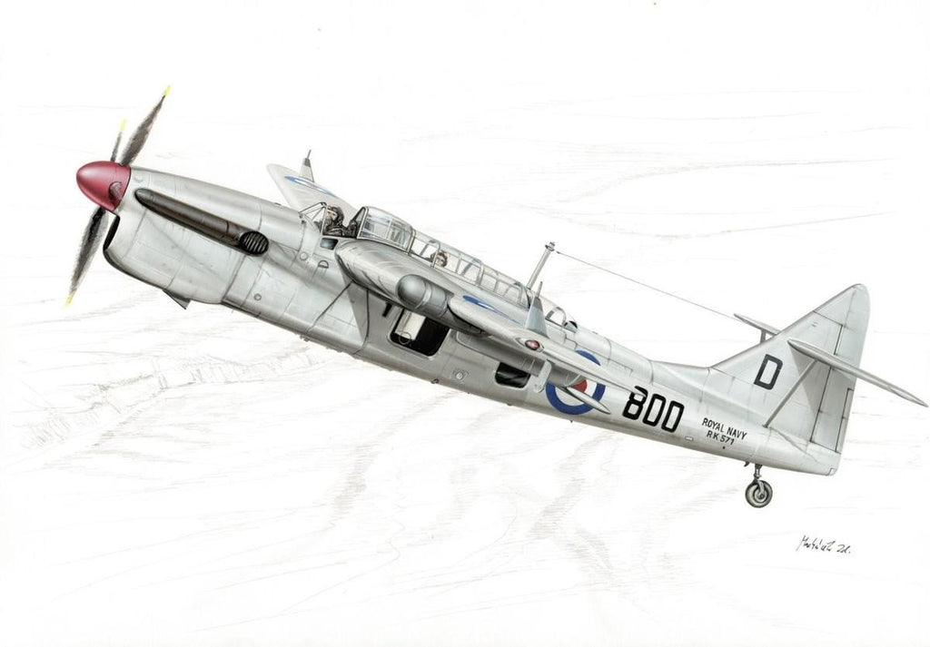 Special Hobby Aircraft 1/48 Fairey Barracuda Mk 5 Royal Navy Bomber Kit