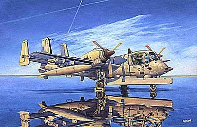 Roden Aircraft 1/48 OV1D Mohawk Recon Multi-Purpose US Aircraft Kit