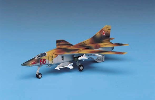 Academy Aircraft 1/144 Mig23 Flogger Fighter Kit