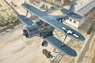 Roden Aircraft 1/48 Beechcraft GB2 Staggerwing (Traveller) WWII US Courier BiPlane Kit