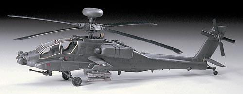 Hasegawa Aircraft 1/72 AH64 Longbow Helicopter Kit