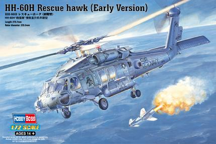 Hobby Boss 1/72 HH-60H Rescue Hawk Kit