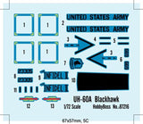 Hobby Boss 1/72 UH-60A Blackhawk Kit