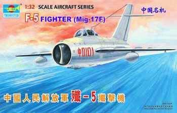 Trumpeter Aircraft 1/32 Shenyang F5/Mig17 Daytime Fighter Kit