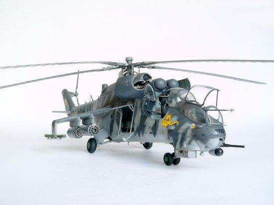 Trumpeter Aircraft 1/35 Mil Mi24V Hind E Helicopter Kit