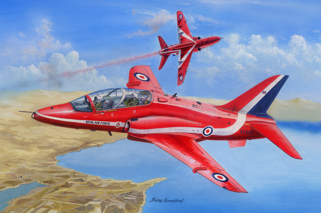 Hobby Boss Aircraft 1/48 RAF Red Arrows Hawk T MK.1/1A Kit