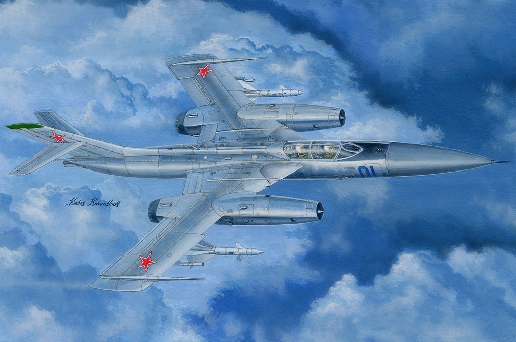 Hobby Boss Aircraft 1/48 Russian Yak-28P Firebar Kit