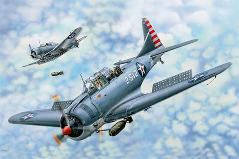 I Love Kit Planes 1/18 SBD-3/4 Dauntless Kit