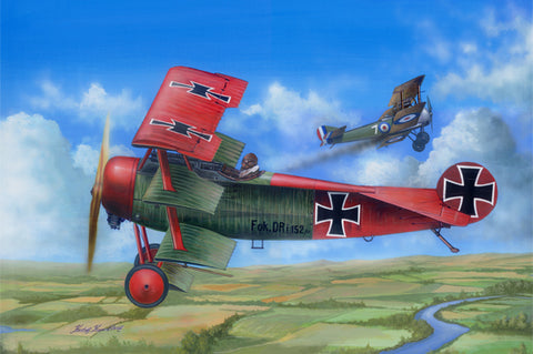 I Love Kit Planes 1/24 Fokker Dr.1 Kit