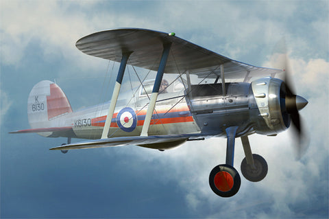 I Love Model Planes 1/48 Gloster Gladiator Mk1 Kit
