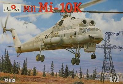A Model From Russia 1/72 Mil Mi10K Soviet Flying Crane Helicopter Kit