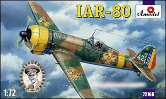 A Model From Russia 1/72 IAR80 Romanian Fighter Kit