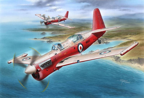 Special Hobby Aircraft 1/48 Fairey Firefly U Mk 8 Drone Version Aircraft Kit