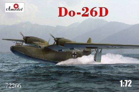A Model From Russia 1/72 Do26D Long-Range Flying Boat Aircraft Kit