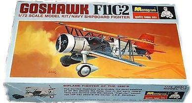 Revell-Monogram Aircraft 1/72 Monogram F11C2 Goshawk 1930s USN Fighter (Ltd Run) Kit