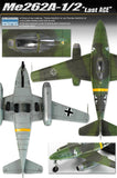 Academy Aircraft 1/72 Me262A1/2 Last Ace Fighter/Bomber Special Edition Kit