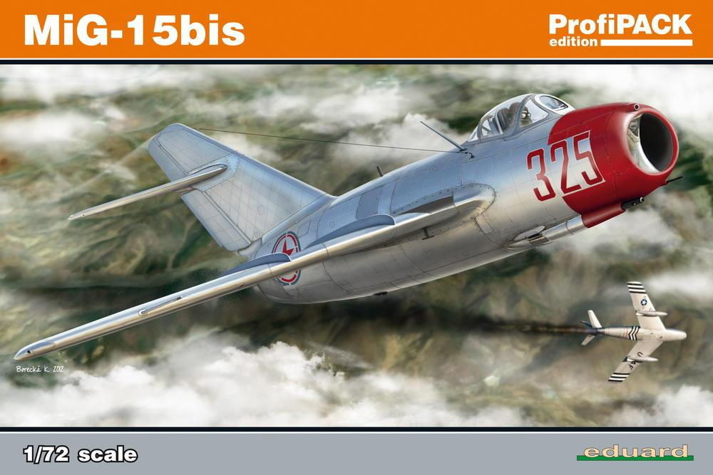 Eduard Aircraft 1/72 Mig15 bis Fighter Profi-Pack Kit