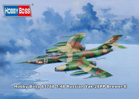 Hobby Boss Aircraft 1/48  Russian Yak-28PP Brewer-E Kit