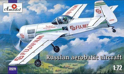 A Model From Russia 1/72 Su31 Russian Aerobatic Aircraft (Fuji Film/FedEx Markings) Kit