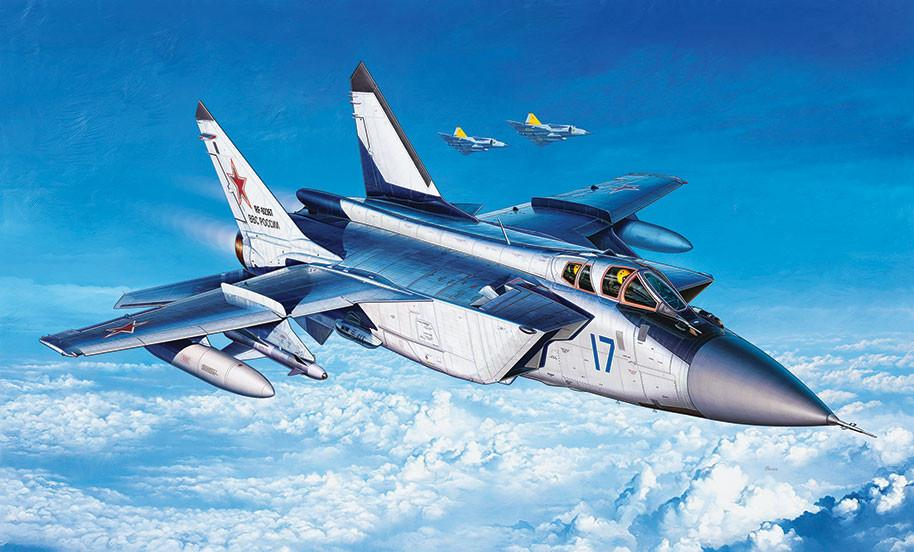 Revell Germany Aircraft 1/144 MiG31 Foxhound Aircraft Kit