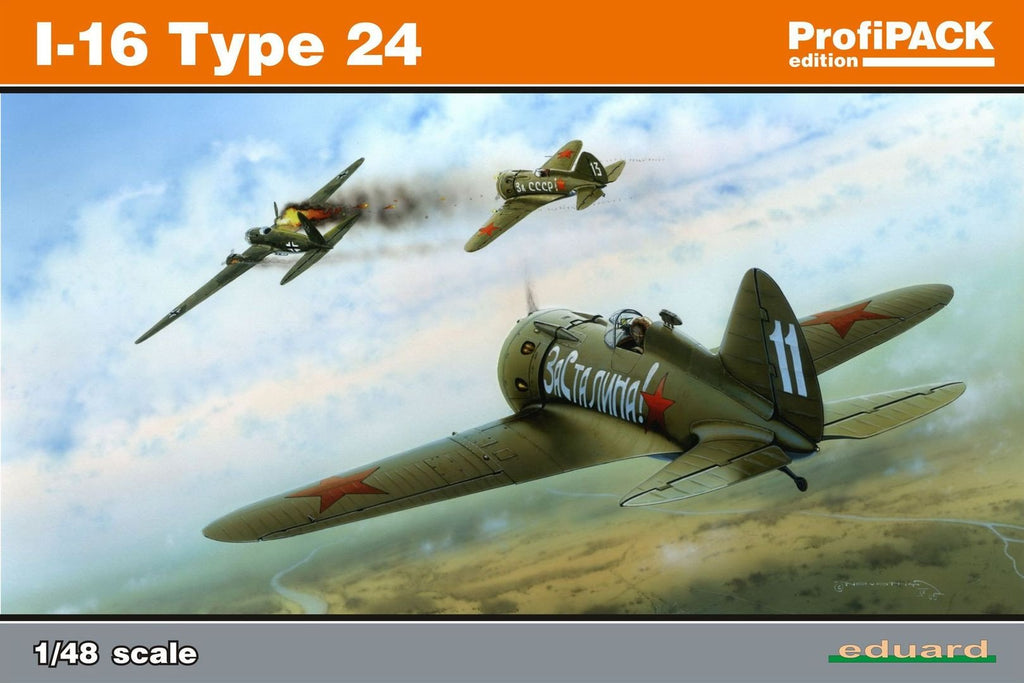 Eduard 1/48 Polikarpov I16 Type 24 Fighter Kit (Re-Issue)