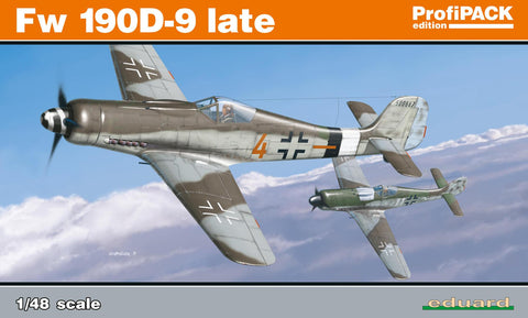Eduard Aircraft 1/48 Fw190D9 Late Fighter Profi-Pack Kit
