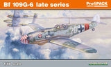 Eduard 1/48 Bf109G6 Late Series Fighter Profi-Pack Kit