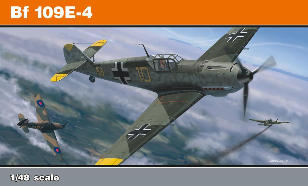 Eduard 1/48 Bf109E4 Fighter Profi-Pack Kit