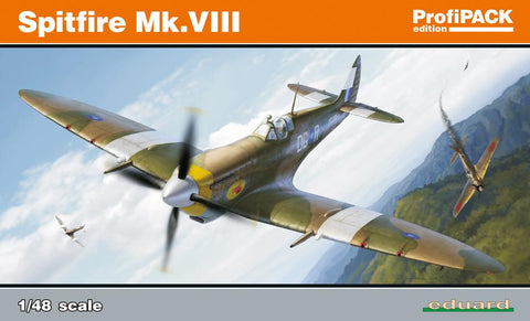 Eduard Aircraft 1/48 Spitfire Mk VIII Fighter Profi-Pack (Re-Issue) Kit